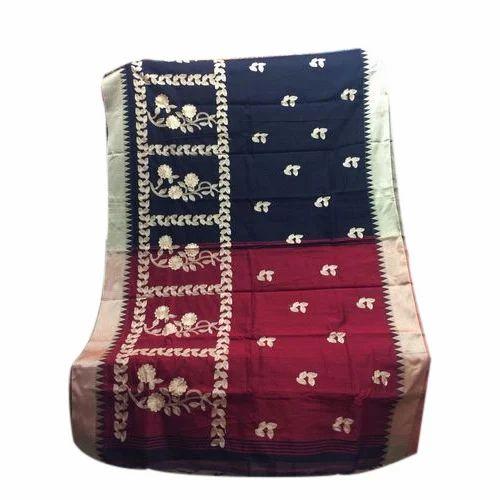 9bce8ab0d6 Designer Cotton Handloom Saree, 6 M With Blouse Piece, Rs 600 /piece ...