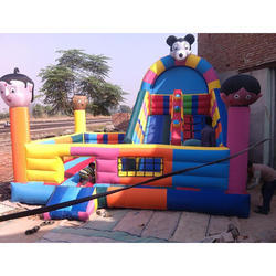 Playing Inflatables Bouncy Castle