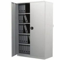 Fonzel 4 Shelves Metal Swing Door Cupboard