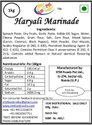 Haryali Marinade