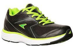 Power Men Black Sports Shoes, मेन