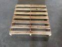 Dark White Neem Babool Wood Pallets, Capacity: 1200kg - 1800kg