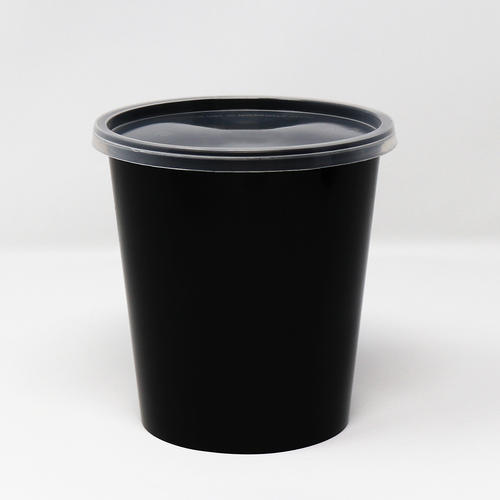 1000ml Round Cont. With Lid Tall - 34 Oz