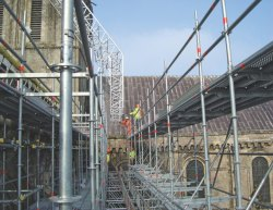 Mild Steel Scaffolding Systems