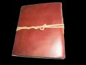 Genuine Leather Plain Travel Journal Notebook