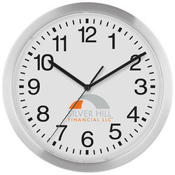 Plastic White Promotional Wall Clocks, Size: 11 Inch