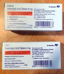 Fxr 5mg Tablet (Obeticholic Acid (Generic Ocaliva) - Dr Reddys)