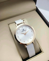Branded Ck Ladies Watch White