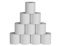 Toll Plaza Thermal Rolls, GSM: Less than 80, Thickness: 0.3-1 Mm
