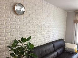 A Garde White Interior Foam Bricks, Size: 77cm*70cm