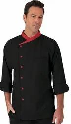 Red Chef Jackets Shef Coat, For With. Pent., Size: Small