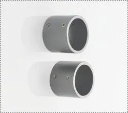 Iron 25 mm Charcoal Wall Bracket