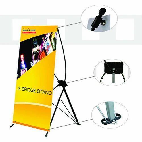 Bridge Banner Stand
