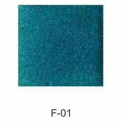 Turquoise Green Square Designer Ceramic Glazed Plain Tiles, Size: 150x150mm, Thickness: 5-10 mm