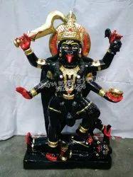 Black Marble Maa Kali Statue
