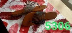 Flats & Sandals Daily Wear Ladies Footwear, Size: 7-12