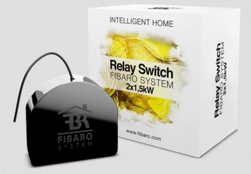 fibaro relay switch 2x1 5kw 110 240v ac or 24 60v dc id rh indiamart com 12V Relay Switch 12V Relay Switch
