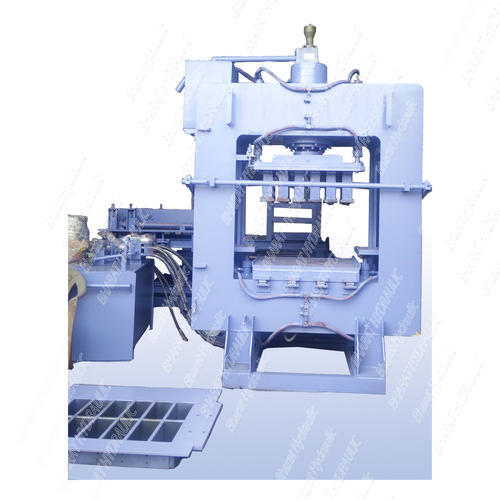 Bharat Automatic Fly Ash Brick Making Machine with Vibro 12cvt. - BHA-302B