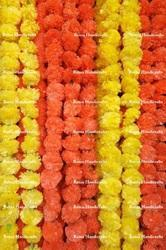 Artificial Marigold Flower Garlands