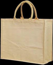 Plain Natural Juco Shopping Bag, Capacity: 10Kg, Size: 45X45X15
