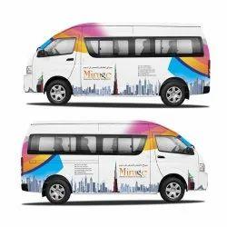 Vehicle Branding Service, Mode Of Advertising: Offline, Mode Of Advertisement: Bus Adverting