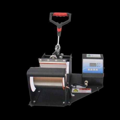 Black Semi-Automatic Mug Hot Press, Capacity: 1, 1020