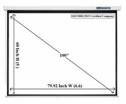 Screen Technics Pro 5x7 Motorized Projector screen