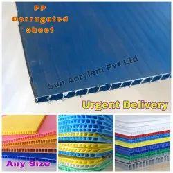Sunpack Sheet - Polypropylene Hollow Corrugated Sheet Manufacturer