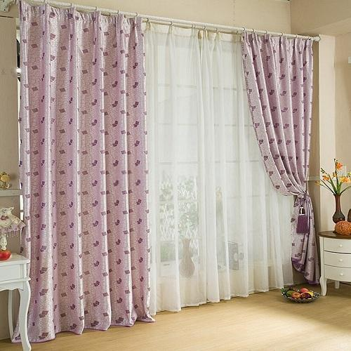 Cotton Printed Designer Curtain, Shape: Vertical