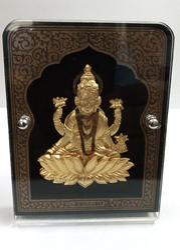 Laxmi Gold Leaf Frame 24 kt.