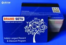 Pvc Multicolor Membership Card for Mall, Size: Standard