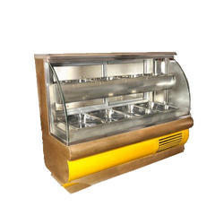 C Glass Display Counter