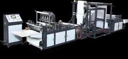 Non Woven D Cut Bag Making  Machine Model HES-B700