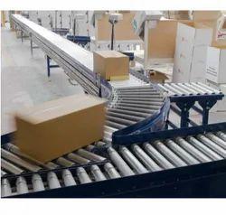 Material Handling Rollers Conveyor