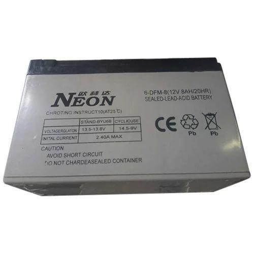 vrla smf battery 12v 8ah price 425, नियॉन की हाई पावरvrla smf battery 12v 8ah price 425