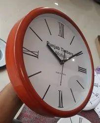 Wooden and Zulu Quartz Printed Clocks