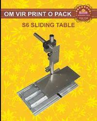 S6 SLIDING TABLE