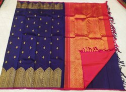 Big Border Silk Sarees (Rs 6,000 To Rs 15,000)