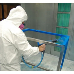 Steel Powder Coating Services