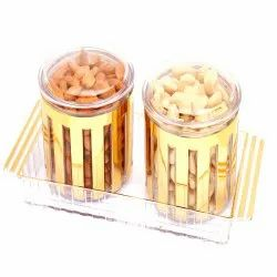Revlone Set of 2 Cashew, Almonds Air Tight Containers