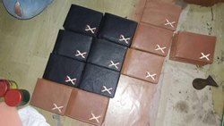 Mens Leather Money Clip Wallet