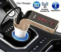 Bluetooth Car Kit Handsfree FM Transmitter MP3 Player charger