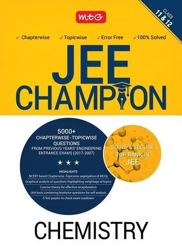 Chemistry Champion For Jee Book