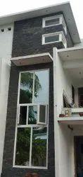 Simta astrix White UPVC Combination window, Glass Thickness: 5mm Thickness