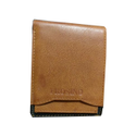 Brown Faux Leather Mens Wallet