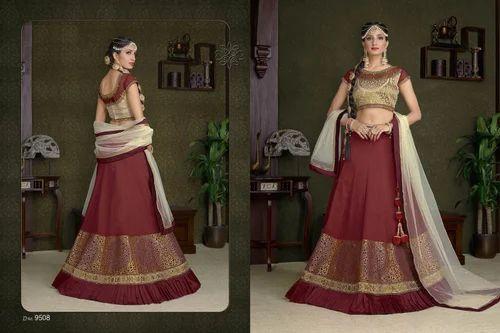 7337d8e6ce Georgette Semi-Stitched Wedding Lehenga Choli, Rs 1600 /piece   ID ...