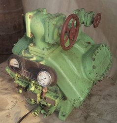 Reciprocating Compressor Sabro SMC 106 Air Compressor, Maximum Flow Rate: 51 - 120 Cfm
