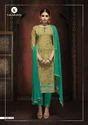 Unstitched Dress Material Rangoli Suit