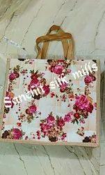 Fancy Jute Ladies Carry Bag