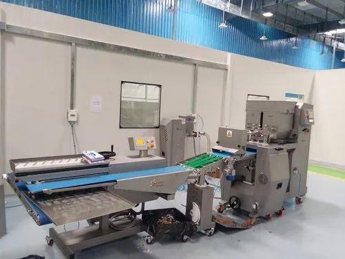 Semi-Automatic Cookies Making Machine
